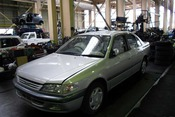Авто на разбор TOYOTA CARINA 7AFE AT211