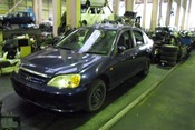 Авто на разбор HONDA CIVIC D15B ES1